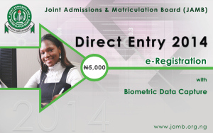 jamb direct entry 2014